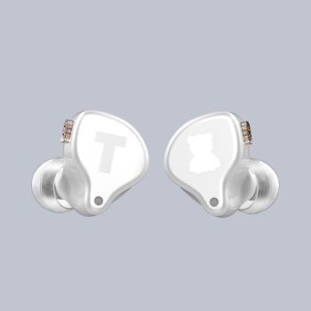 锦瑟香也 TFZ S2 PRO高素质HIFI可换线双插针入耳式音乐耳机 白色