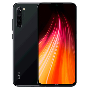 Redmi 红米 Note 8 智能手机 6GB+128GB 曜石黑