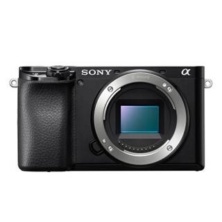 SONY 索尼 ILCE-6100 APS-C画幅微单数码相机 单机身 黑色