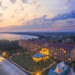 享5.3公里私属海岸!茂名浪漫海岸温德姆酒店1-2晚套餐(含早+自助晚餐+门票)