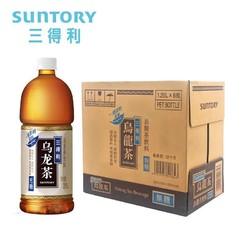 SUNTORY/三得利无糖乌龙茶 大瓶茶饮料 1.25L*6瓶 整箱