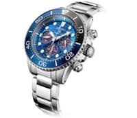SEIKO 精工 大白鲨特别版 SSC741P1 男士太阳能腕表