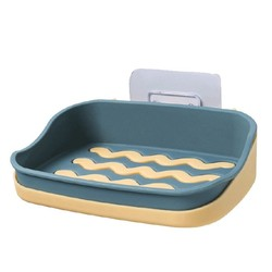 喜家家 双层沥水肥皂盒 5色可选