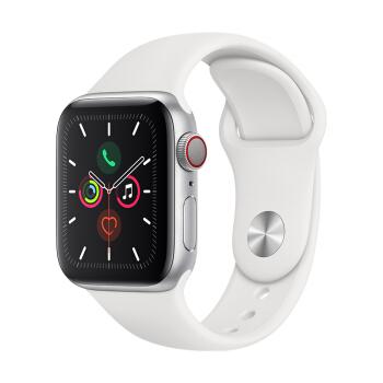 Apple 苹果 Watch Series 5 智能手表 GPS+蜂窝版 44mm 白色