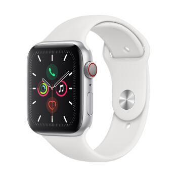 Apple 蘋果 Watch Series 5 智能手表(GPS+蜂窩網絡、鋁金屬表殼、運動型表帶、40mm)