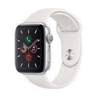 Apple Watch Series 5智能手表(GPS款 44毫米银色铝金属表壳 )