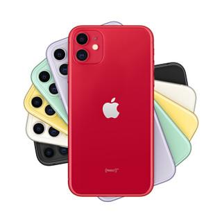 Apple 苹果 iPhone 11 智能手机 128GB 全网通 红色