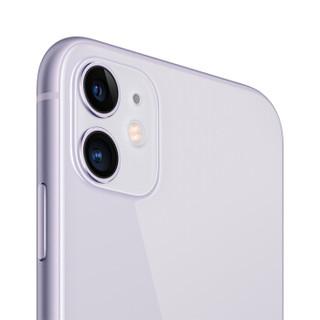 Apple 苹果 iPhone 11 智能手机 (128GB、全网通、紫色)