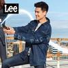 Lee 101+系列外套男春秋新款棉宽松版型潮牛仔夹克L371464MJ43X
