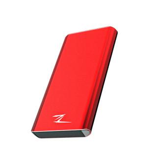 8日0点 Netac 朗科 中国红Z8 Type-C USB3.1移动固态硬盘 480GB