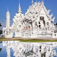 上海直飞往返泰国清迈5天1晚自由行(含机票+1晚酒店)