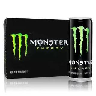 限浙沪 :  Monster 魔爪 维生素饮料 能量型 运动饮料 330ml*24罐