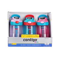 contigo 康迪克 HBC-GIZ109 塑料吸管杯 400ml 3只裝