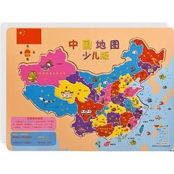 神童小子 中国地图拼图 30*22.5cm