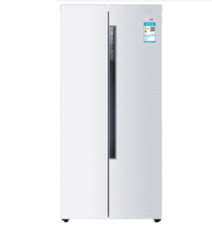 Haier 海尔 BCD-451WDEMU1 定频风冷对开门冰箱 451L 藕纱白