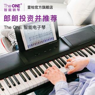 The ONE 壹枱 智能钢琴 61键电子琴 黑色