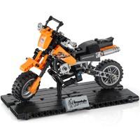 森宝 科技系列 哈雷KTM越野摩托车 组装积木模型