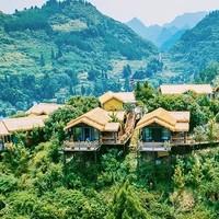 周末不加价,花海崖边的独栋小木屋!遵义开元芳草地酒店1晚套餐
