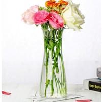 Luminarc 乐美雅 透明玻璃花瓶 高20cm