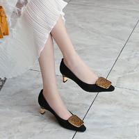 kumikiwa 卡米 女士浅口高跟鞋