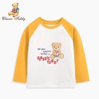 CLASSIC TEDDY 精典泰迪 儿童长袖T恤 *2件