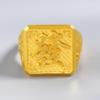GOLD DRAGON 金龙珠宝 黄金戒指男士款 发字戒指999足金戒指活口精工款霸气稳重发财 约13.79-13.85克     GR156D