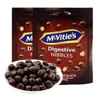 Mcvities 麦维他 麦丽素脆芯黑巧克力豆 80g *2件