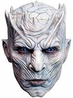 Trick or Treat Studios 男士权力的游戏-夜间国王白色步行者男士全头面罩