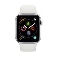 Apple Watch Series4 智能手表(GPS  蜂窝网络款 44毫米银色铝金属表壳 白色运动型表带)