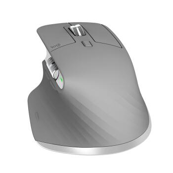 Logitech 罗技 MX Master 3 无线蓝牙鼠标 科技灰