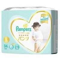Pampers 帮宝适 一级帮拉拉裤 L34片