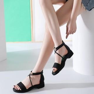 限尺码 : DUSTO 大东 DW19X1412A 女士平底凉鞋