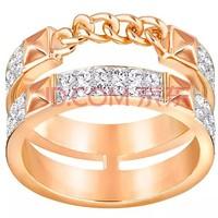 SWAROVSKI 施华洛世奇 戒指双层密镶玫瑰金色 5251683