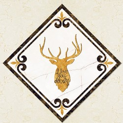 凯萨王宫 瓷砖对角贴 地板贴 15个
