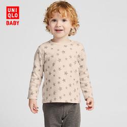 婴儿/幼儿 圆领T恤(长袖) 421227 优衣库UNIQLO