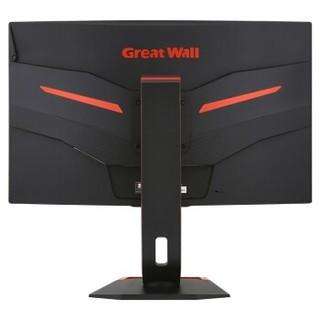 Great Wall 长城 328G1PQG 31.5英寸曲面显示器(2K、1800R 、144Hz)