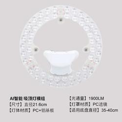 得邦 LED吸顶灯改造灯板 天猫精灵无极调光24w