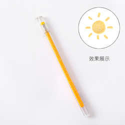GUSHA 古莎 三年二班 彩色荧光中性笔 1.0mm