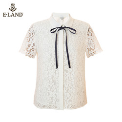 E·LAND 衣恋 EEBW924W3M 女士蕾丝衬衫