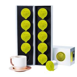 小罐茶 中秋礼盒 茶叶 2019春茶 龙井绿茶  银罐畅饮10罐