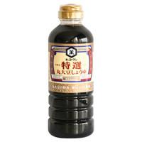 龟甲万 万字特选丸大豆酱油 500ml  *3件