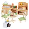森贝儿家族儿童玩具女孩礼物过家家公主娃娃玩具屋配件厨房套5033