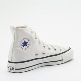 CONVERSE 匡威 ALL STAR 女款日产帆布鞋1980s (白色、59)