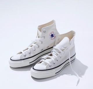 CONVERSE 匡威 ALL STAR 女款日产帆布鞋1980s