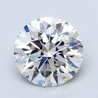 Blue Nile 0.92克拉 圆形钻石(切工EX,成色E,净度VVS2)