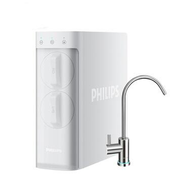 PHILIPS 飞利浦 家用净水器 小方盒智能水龙头1.05L/min大流量反渗透净水机 AUT2033/00