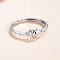 SUNFEEL 赛菲尔 铂金心形戒指