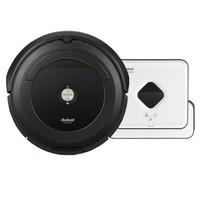 iRobot 艾罗伯特 691+381 全自动洗地拖地吸尘器 黑色
