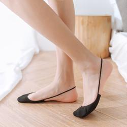 佩足 女士防滑半掌袜 5双