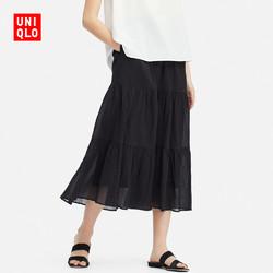 UNIQLO 优衣库 416219 女士层叠长裙